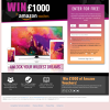 Win £1,000 of Amazon vouchers