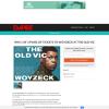 Win 1 of 3 Pairs Of Tickets To Woyzeck At The Old Vic