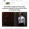 Win £400 To Spend At Budd Shirtmakers