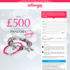Win £500 to spend at Pandora