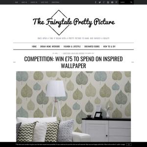 Win GBP75 Inspired Wallpaper Voucher