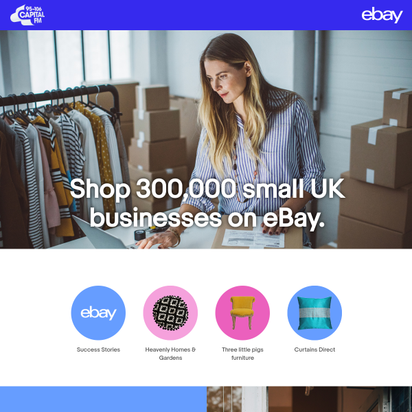 Capital Fm Win A 1000 To Spend On Ebay Competitionsuk Co Uk