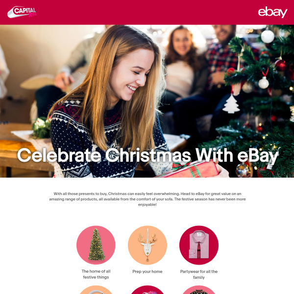 Win a Christmas Prize Bundle With eBay