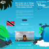 Win a Dream Holiday to Tobago with British Airways Flying From London Gatwick