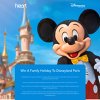 Win A Family Holiday To Disneyland Paris