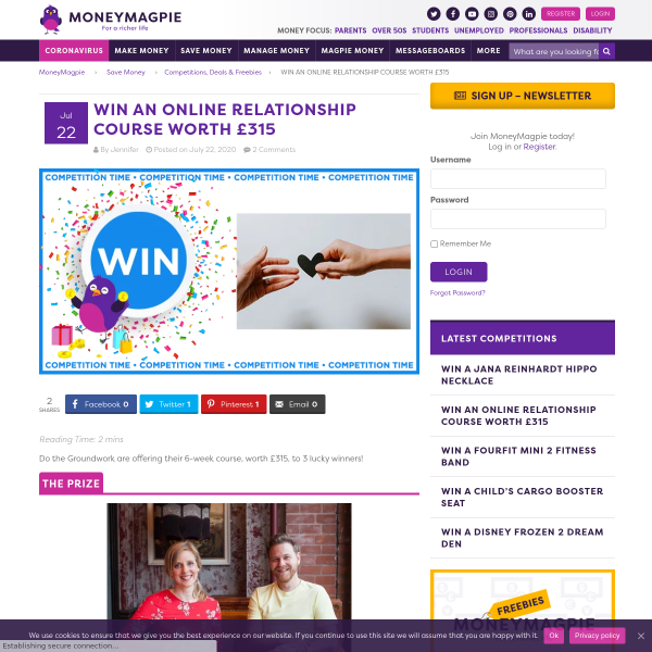 Win a Online Relationship Course