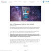Win a Planetarium Visit for Your School