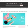 Win A Six-Month Subscription To This Bi-Monthly Beauty Box