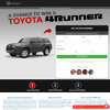 Win A Toyota 4Runner