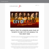 Win a trip to London and a pair of tickets to City of Angels in the West End