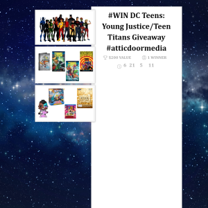 Win a Young Justice/Teen Titans Prize Pack