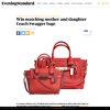Win matching mother and daughter Coach Swagger bags