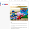 Win one of five Wellkid Peppa Pig prize boxes