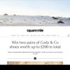 Win two pairs of Cody & Co shoes